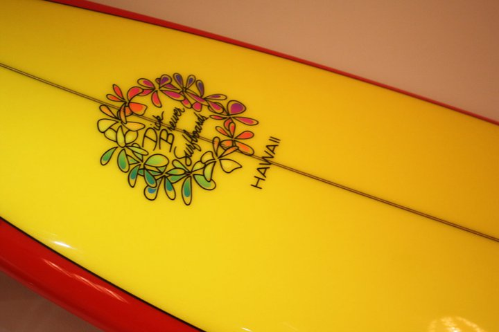 Hawaii surf board
