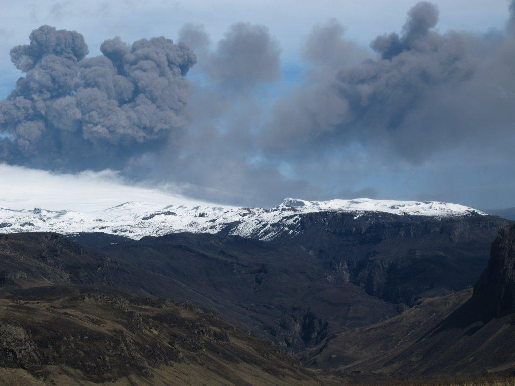 Eyjafjallajökull - the word on everyone's lips back in 2010