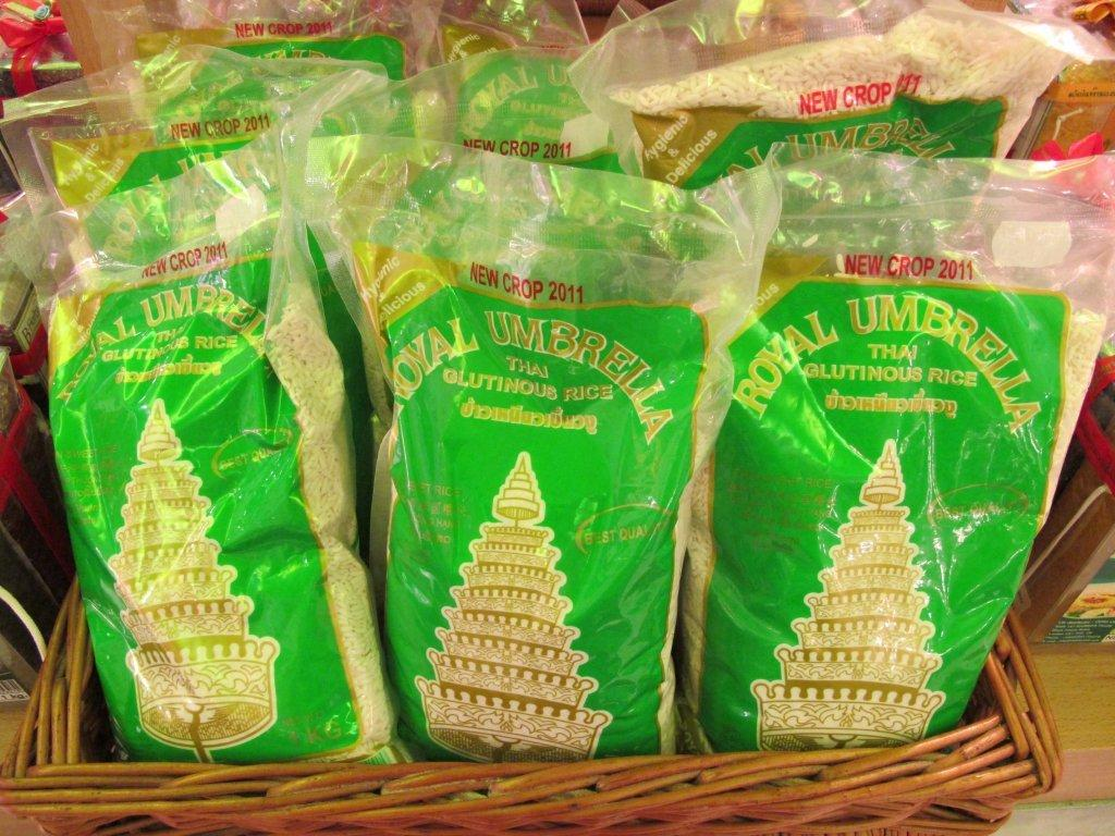 Thai glutinous rice - Royal Umbrella