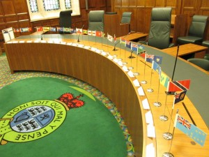 Open House Supreme Court Judicial Committee of the Privy Council Flags