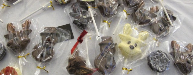 Chocolate Lollipops at the Chocolate Festival