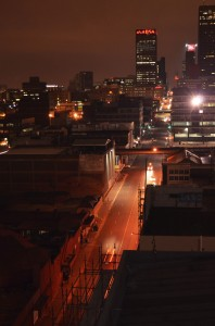 Welcome to the urban jungle of Joburg