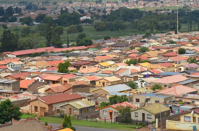 Soweto's matchbox houses