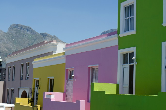 Colourful houses of the Bo-Kaap