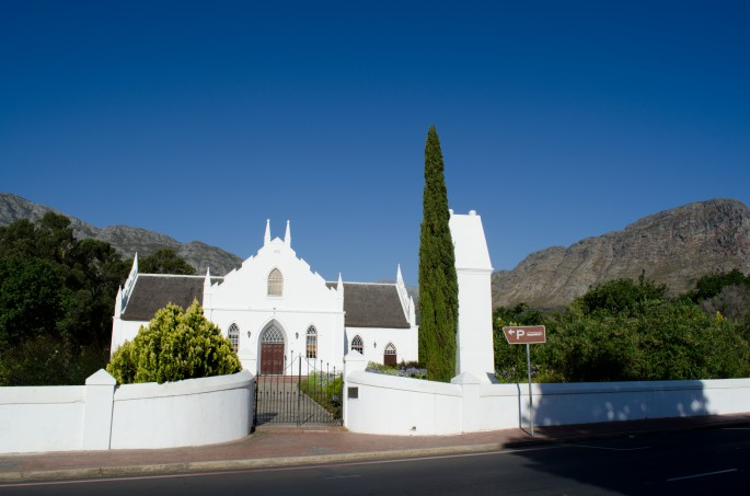 Pretty Franschhoek has a European feel