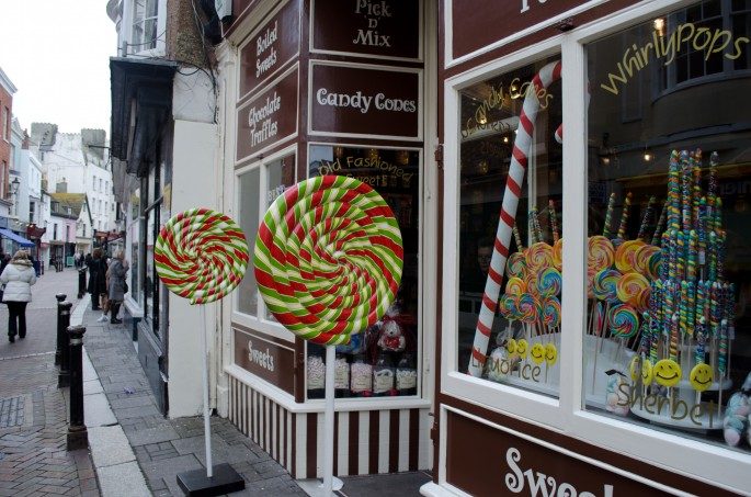 Hastings' George Street has a mix of quirky and artistic shops