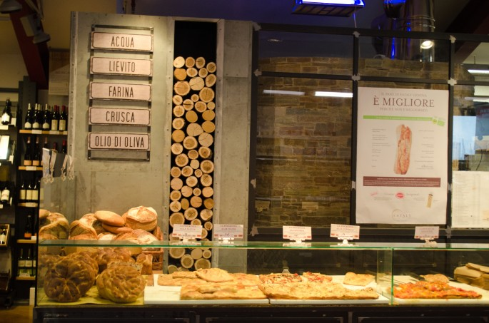 To enjoy Eataly's bread selection you need a lot of dough (sorry!)