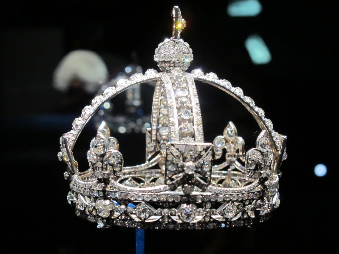 Queen Victoria's famous tiny crown