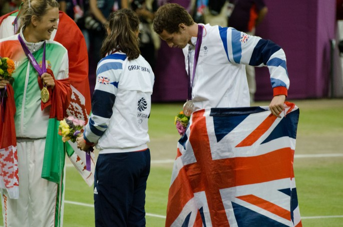 Murray at Olympics 2012