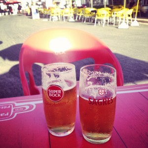 Sagres or Super Bock? The choice is yours.