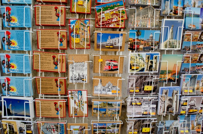 Postcards of Lisbon
