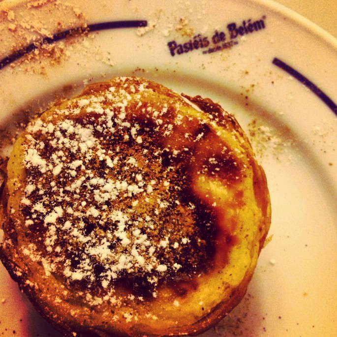 The original Pasteis de Nata at Belem