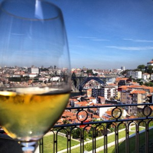 View from The Yeatman Hotel Porto