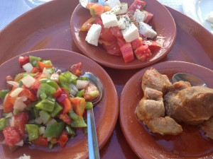 Portuguese tapas lunch