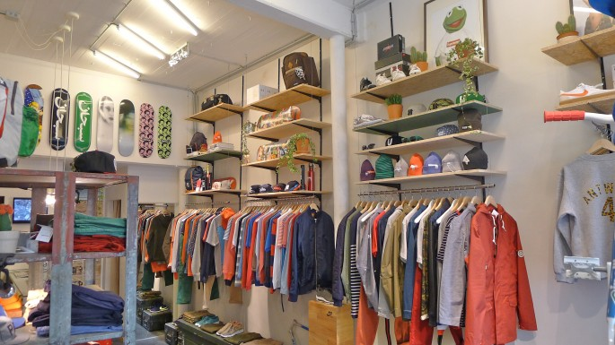 Vier one of Antwerp's great little boutiques