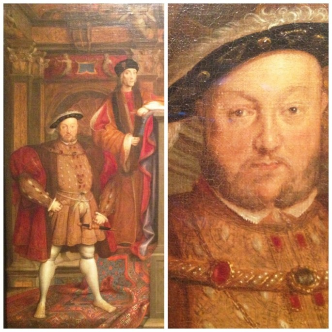 Henry VII, Elizabeth of York, Henry VIII and Jane Seymour by van Leemput