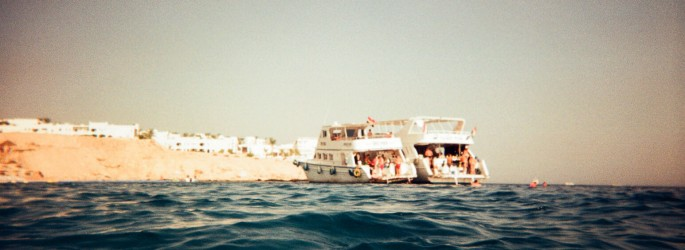 boats at Sharm El Sheikh
