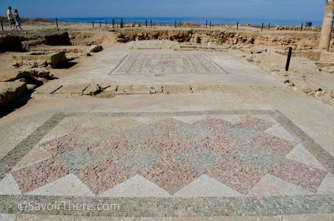 Mosaics at the Pafos Archaeological site