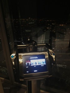 The View From The Shard Tell: scopes - 10 language digital telescope