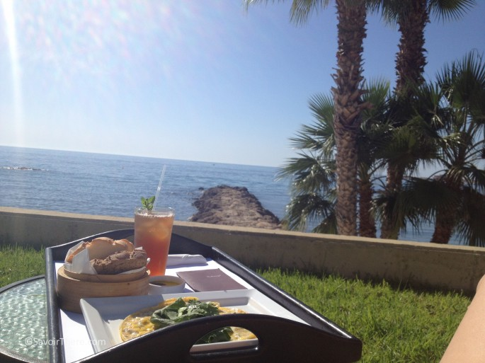 Lunch at the Almyra, Paphos