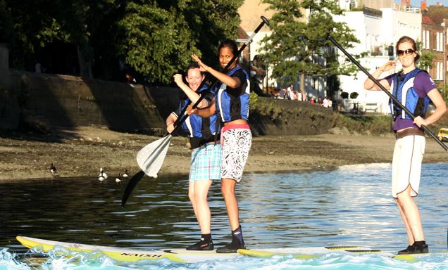 Hawaiian Paddleboarding in London at Active 360