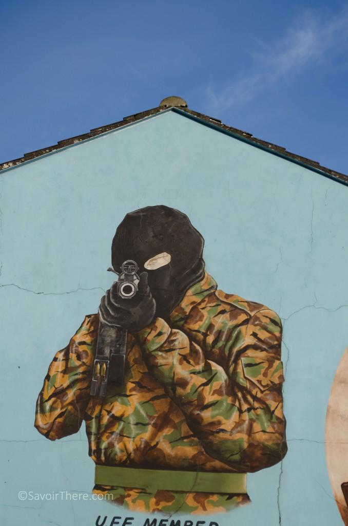 Belfast Mona Lisa