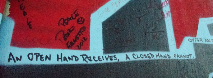 Comment on the Belfast Peace wall