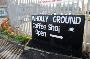 Wholly Ground coffee shop