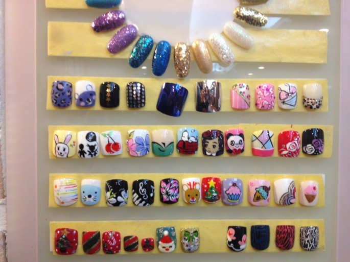 Kawaii Nail art Korea