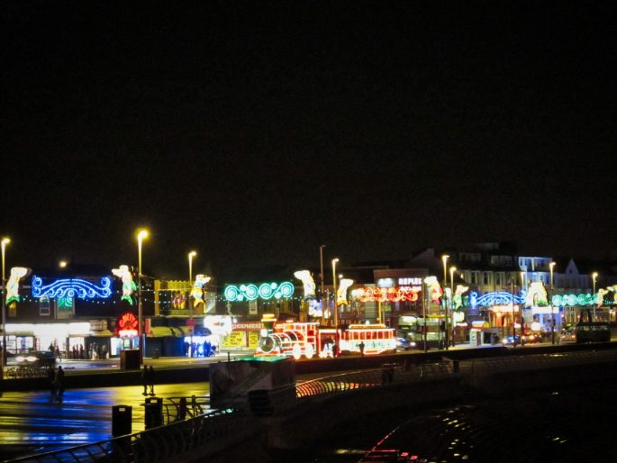 Blackpool night