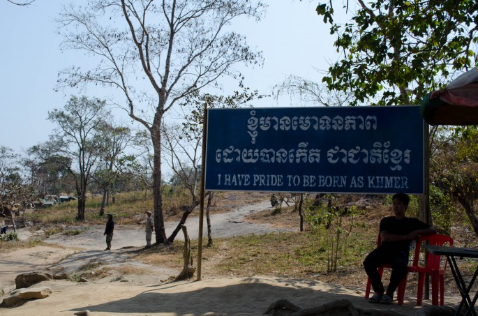 The feeling of Cambodian pride is palpable at Preah Vihear Temple