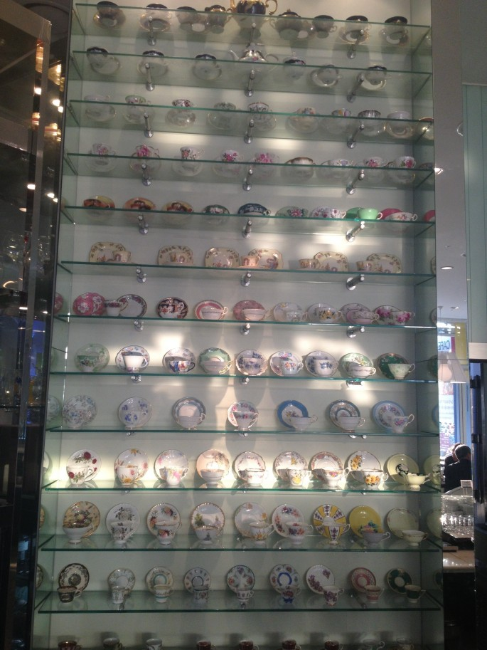 IP Hotel's impressive crockery collection
