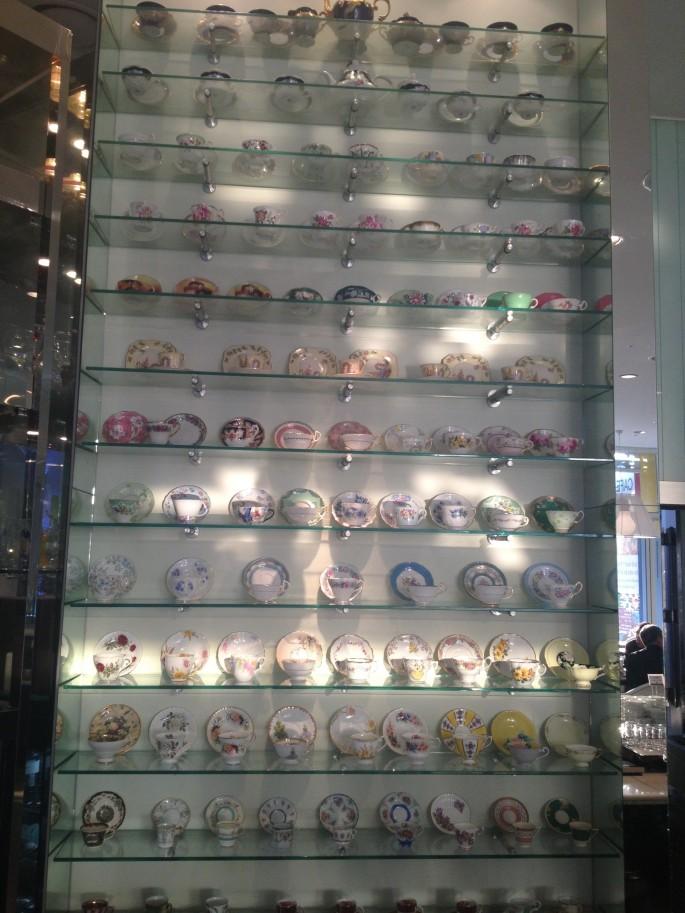 IP Hotel's impressive crockery collection