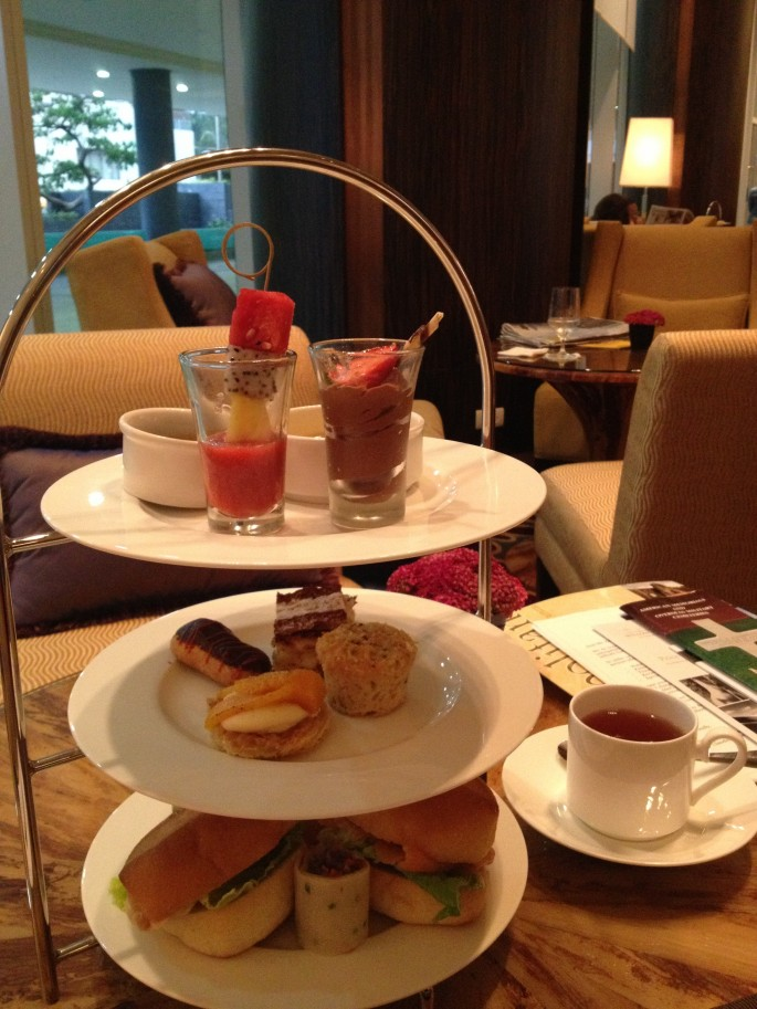 The Afternoon Tea at The Fairmont Makati