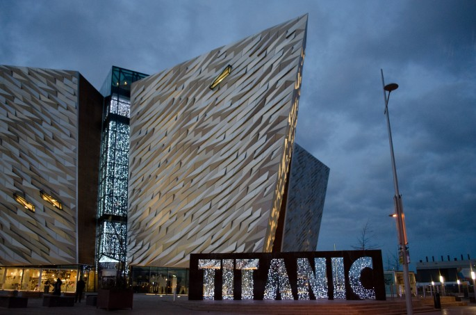 Titanic exhibition Belfast