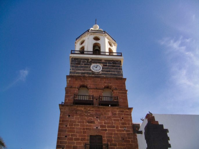 Clock in Teguise