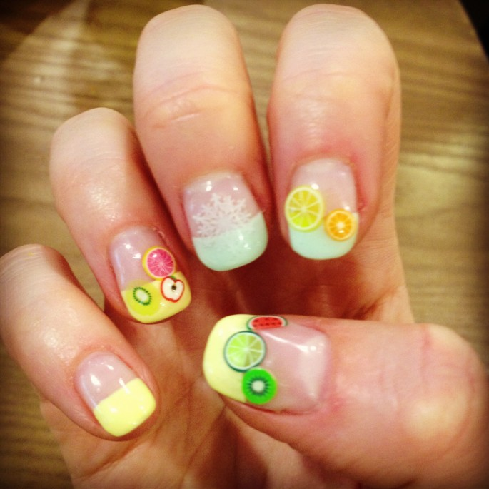 My Kawaii manicure