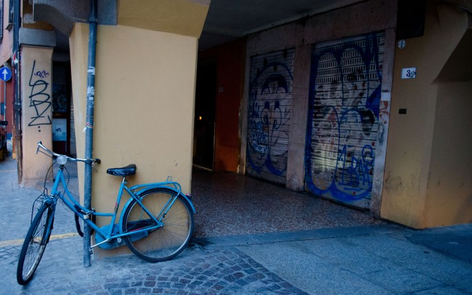 Bicycle in Bologna
