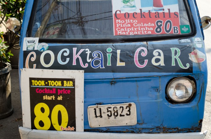 Chiang Mai's cocktail car
