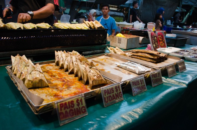 Gadong Night Market, Brunei