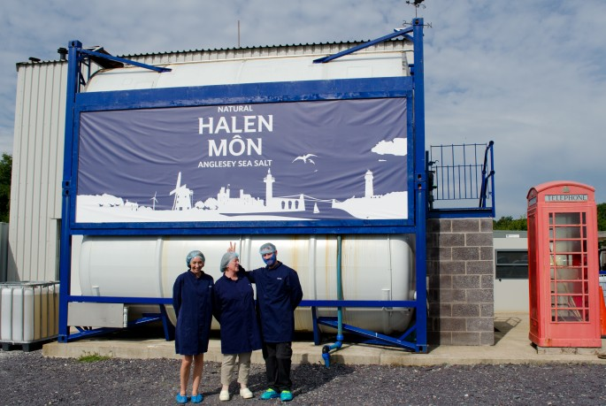 Halen Mon sea salt factory