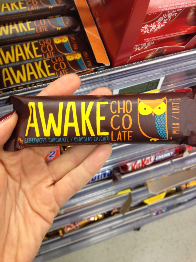 Awake Chocolate - it's like coffee and chocolate at the same time!