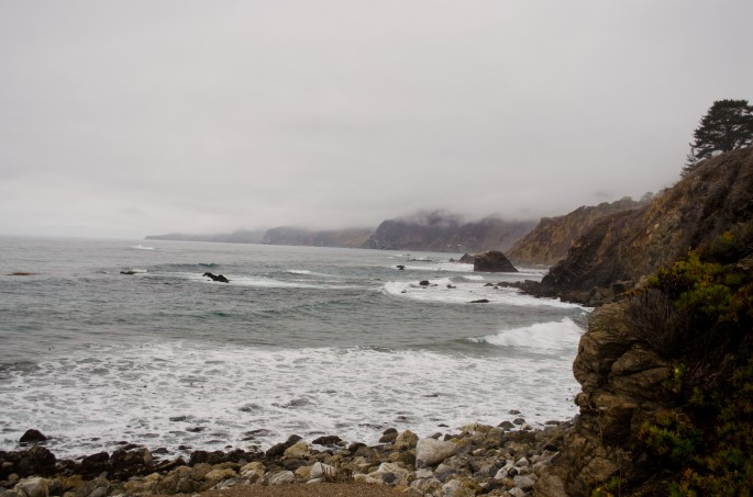 Views from California's Route 1 coastal road