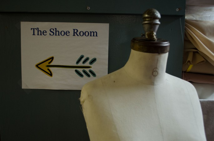 The Shoe Room at the Royal Winnipeg Ballet