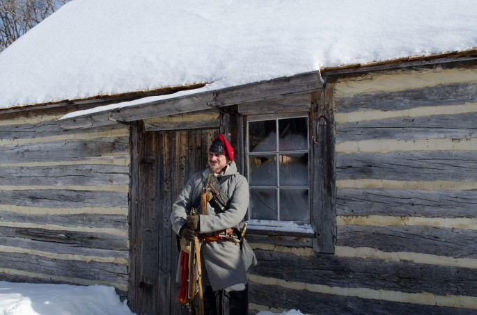 The star of the re-enactments bringing Franco_Manitoban battle history alive
