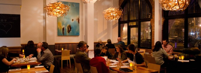 The dining room at Ulla