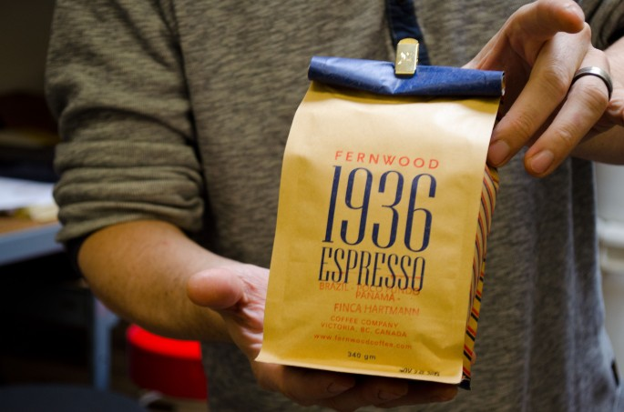 Fernwood Coffee's Own Espresso Blend