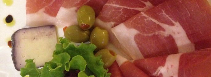 Karst prosciutto at Union Garden