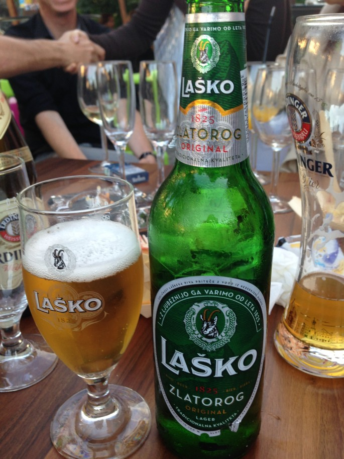 The local beer, which is easy to bond over