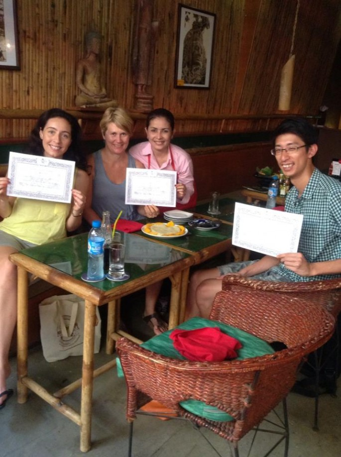With out Khmer teacher and certificates